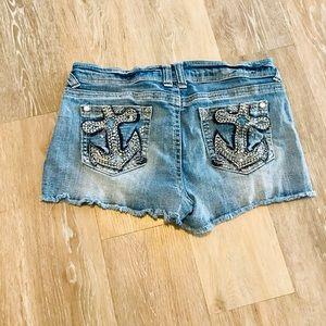 No Boundaries Denim Shorts Junior size 13